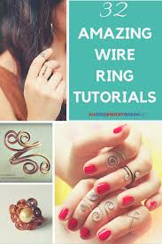 make wire rings images 42 amazing wire ring tutorials wire rings tutorial ring png