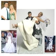 download customized wedding cake toppers bride and groom wedding