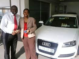 audi westrand congratulations lebo thebehali audi centre rand pre owned