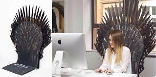 housse chaise de bureau transformez votre chaise de bureau en trône de fer journal du