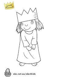 princess print colour abc kids