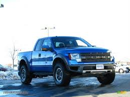 Ford Raptor Blue - 2010 ford f150 svt raptor supercab 4x4 in blue flame metallic