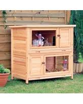 check out these bargains on trixie natura 2 story rabbit hutch