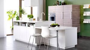ilot cuisine blanc cuisine ikea avec îlot central blanc