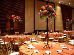 photos of orange and pink tall wedding centerpieces wedding
