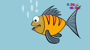 how to draw fish drawing and coloring pages for kids coloring