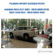 pajero sport mitsubishi pos pengumben pajero sport exceed 4x2 matic dealer mitsubishi 081281171983
