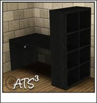 bureau ikea expedit around the sims 3 custom content downloads objects office