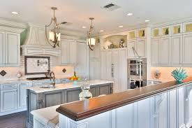 Driftwood Kitchen Cabinets Coastal Elegant Kitchen Point Pleasant New Jersey By Design Line
