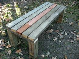 Wooden Garden Bench Plans by Best 25 Build A Bench Ideas On Pinterest Diy Wood Bench Bench