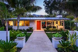 artfully redesigned mid century beach villa in montecito