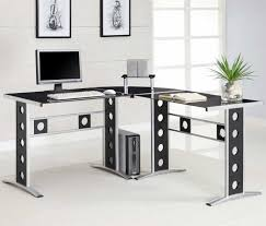 L Shaped White Desk by Modern L Shaped Desk Receptions Ideas U2014 All Home Ideas And Decor