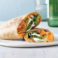 roasted veggies thanksgiving roasted red pepper hummus veggie wraps recipe myrecipes