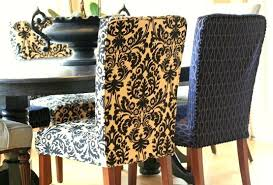 Fabric Chair Covers For Dining Room Chairs Patterned Dining Room Chair Covers Dining Table Chair Slipcovers