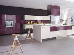 cuisine prune beautiful cuisine grise et mauve contemporary joshkrajcik us