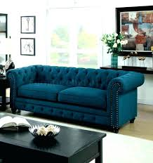 Light Blue Tufted Ottoman Tufted Blue Ottoman Etechconsulting Co
