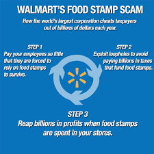 walmart u0027s food stamp scam explained in one easy chart jobs with