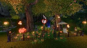 halloween house farm showcase