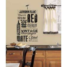 roommates 5 in x 11 5 in wine lovers peel and stick wall decal wine lovers peel and stick wall decal