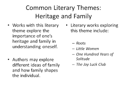 ten common literary themes created by kathryn reilly ppt