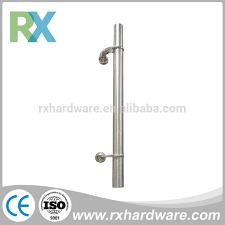 tempered glass door hardware single side door handle single side door handle suppliers and