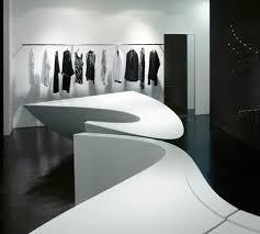 Boutique Shop Design Interior Neil Barrett Shop In Shop By Zaha Hadid