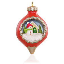 2015 a world within miniature hallmark keepsake ornament hooked