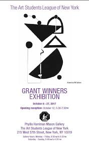 the grant winners exhibition the students league