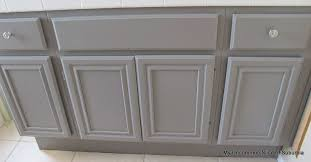 can you stain oak cabinets grey how to paint oak cabinets