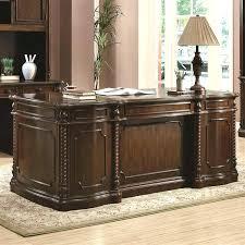 coaster oval shaped executive desk desk coaster office furniture desks and tables kit traditional oval