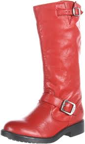 red motorcycle shoes amazon com frye veronica slouch boot little kid big kid boots