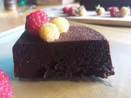 fondant au chocolat sans cuisson de mercotte une abeille en cuisine