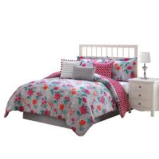 Washer Capacity For Queen Size Comforter Clarisse Coral Grey White 7 Piece Full Queen Comforter Set