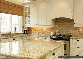 backsplashes in kitchens travertine subway backsplash tile idea backsplash com