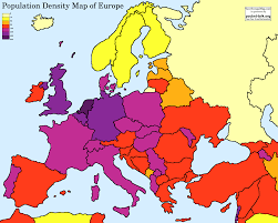 Western Europe Map by Wyhs Human Geography Europe
