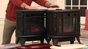 ship 10 17 duraflame infrared quartz stove heater w flame effect