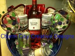 wine basket ideas my gift baskets charmcitycreativedesigns