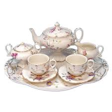 teapot set s secret garden children s tea set the teapot shoppe inc