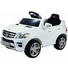 car mercedes kids u0027 car mercedes ml350 ride on white 6v electric with parental