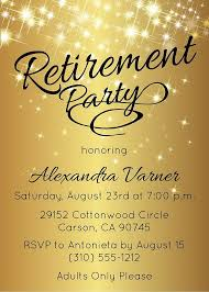 retirement flyer free retirement flyer templates retirement party