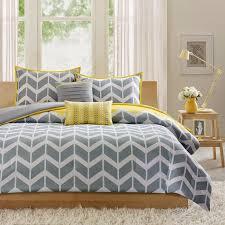 yellow and grey bedding uk 9944