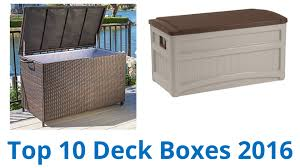 10 best deck boxes 2016 youtube