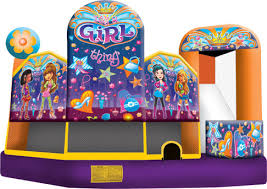 bounce house rentals bounce house rental girl thing combo party rental dayton