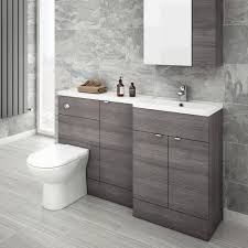 modern bathroom vanity cabinets frameless mirror round white rug