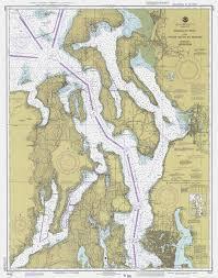 Nautical Maps Windborne In Puget Sound Nautical Charts Puget Sound