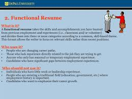 Resume Changing Careers Resume And Cover Letters Workshop Presentation