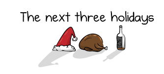 the next three holidays the oatmeal