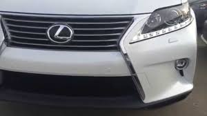 white lexus inside 2015 lexus rx 350 awd white on saddle tan review youtube
