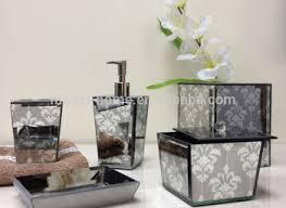 Cracked Glass Bathroom Accessories Best Of Purple Glass Bathroom Accessories Nurani