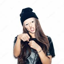 young halloween background young bad swag teenage in black beanie u2014 stock photo johan